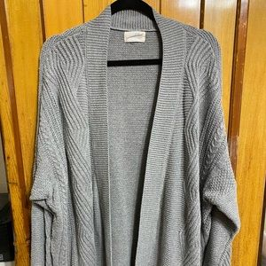Universal Thread Gray XL Cardigan